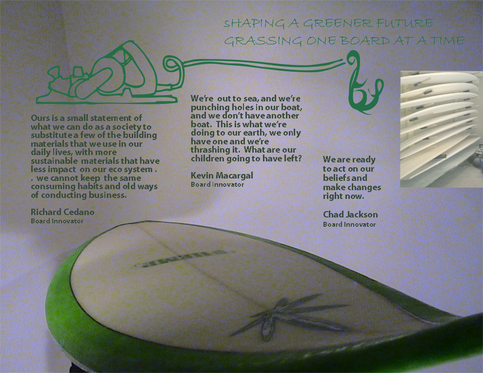 Shaping a Greener Future, Hemp Surfboards